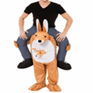 Image 5 - Donald Trump Pants Party Dress Up Ride On Me Mascot Costumes Carry Back Novelty Toys Halloween Party Fun Cosplay Clothes Disfraz
