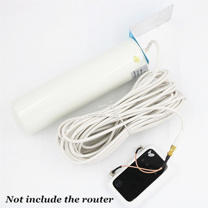 Image 2 - 4G LTE هوائي 3G 4G هوائي هوائي في الهواء الطلق مع 10m CRC9/TS9/SMA موصل ل 3G 4G راوتر مودم