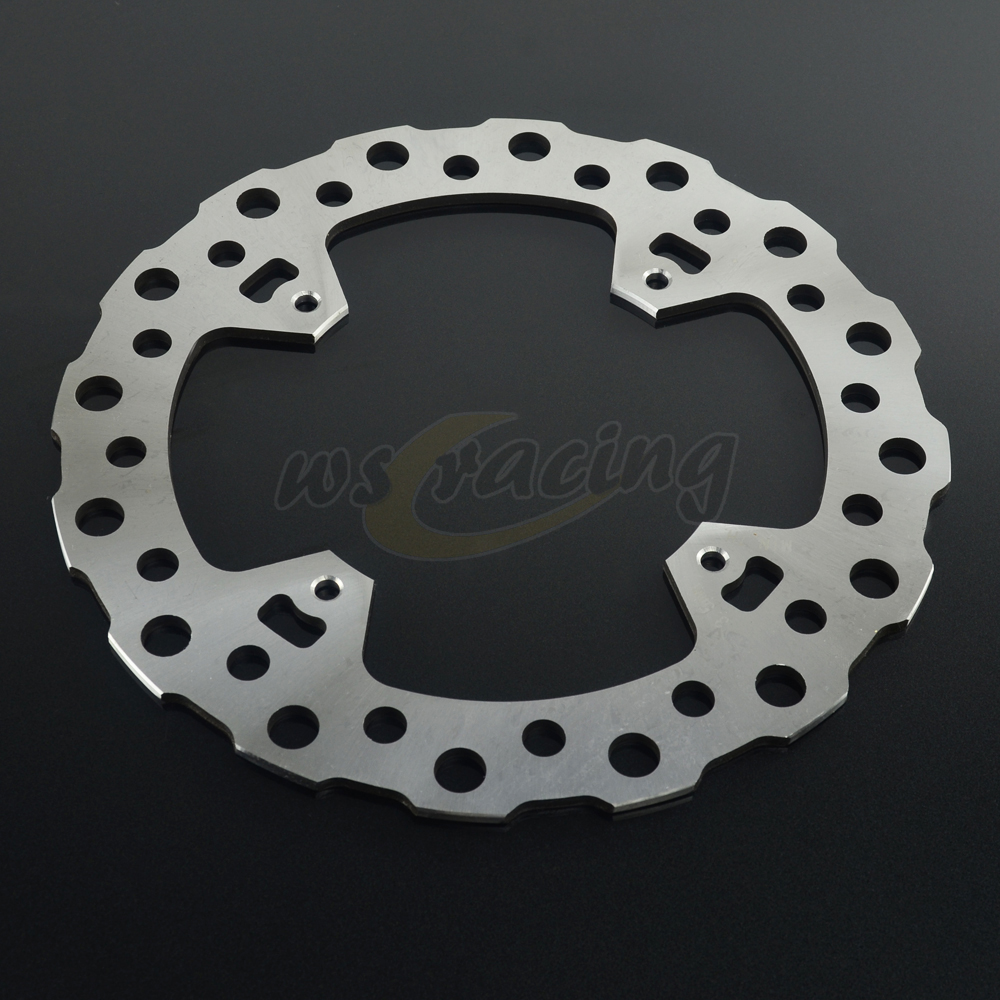 Outer Diameter 240MM Stainless Steel Rear Brake Disc Rotor For HONDA CR125 CR250 CRF250 CRF250R CRF250X CRF450R CRF450X for honda nc700 nc750 ctx700 nm4 vultus motorcycle accessories rear wheel brake disc rotor od 240mm stainless steel