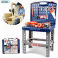 Nuevos niños de la llegada herramienta de reparación de caja de herramientas de juguete boy toy play house kit de Herramienta De Niños Set Boys Juegos de Herramientas de Juguete de kid mejor regalo