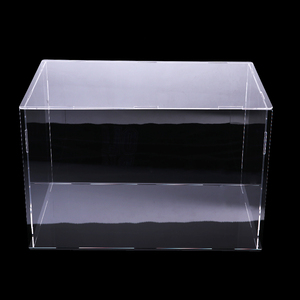 Image 3 - 36x16x16cm Clear Acrylic Display Case Show Box for Action Figures Doll Model