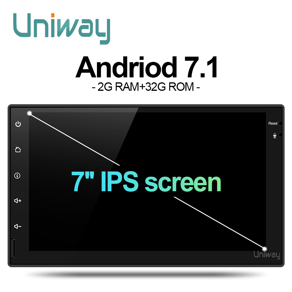 Uniway AWD7071 android 7.1 dvd do carro para nissan qashqai x trail-nota almera pathfinder teana juke gps multimídia player