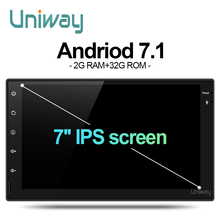 uniway AWD7071 2G+16G 2 din android car dvd for nissan qashqai x-trail almera pathfinder teana note juke multimedia gps player