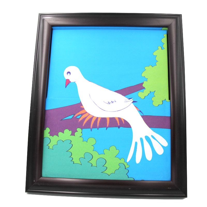 1pcs dove frame magic dove out from board magic trick professional for magician stage gimmick illusion