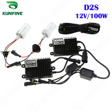 Xenon Headlight D2S 12V 100W 4300K 6000K 8000K HID Conversion Xenon Kit for Vehicle Headlight Car