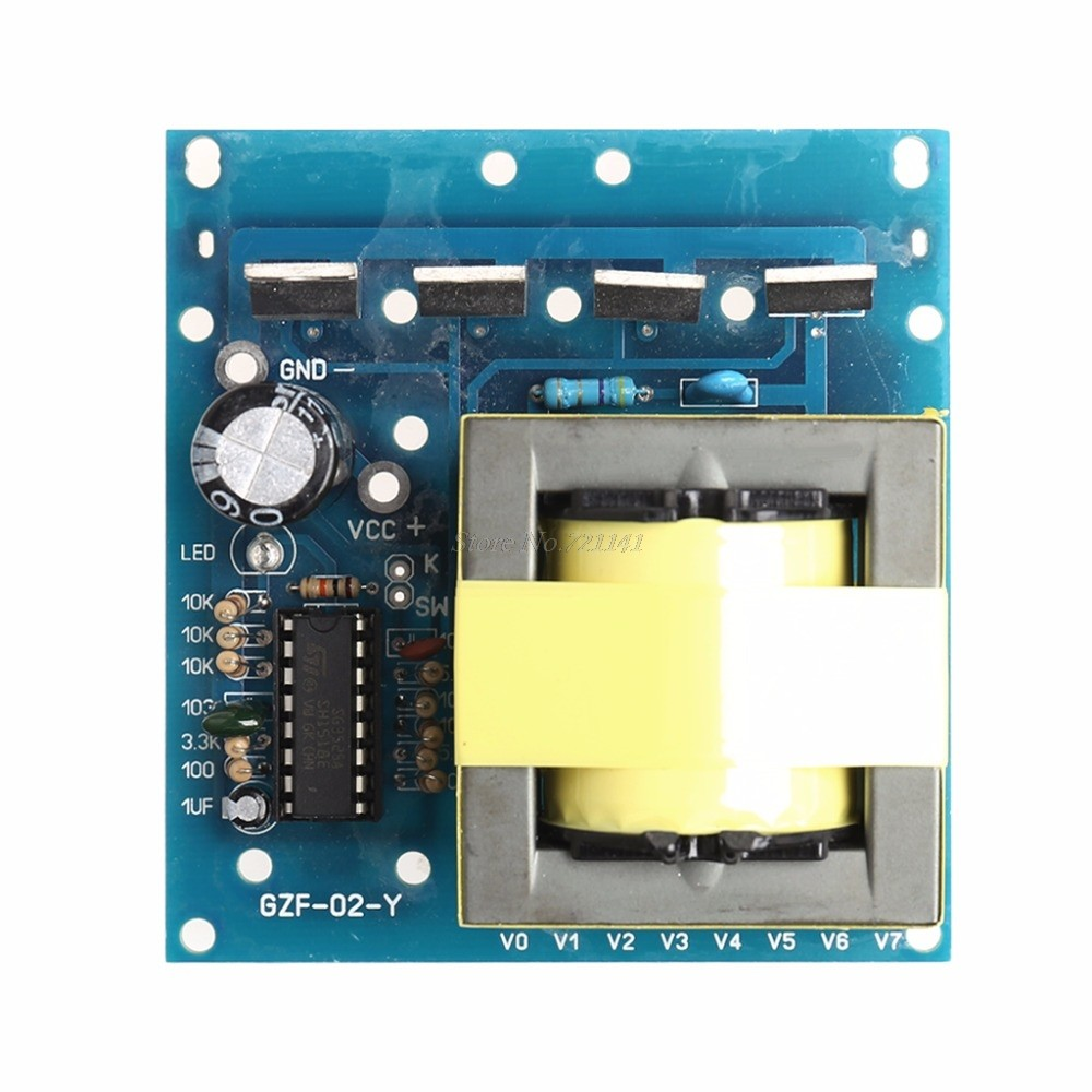 Online Shop Single Silicon Machine Front Stage Boost Circuit Board Transistor Inverter 12v To 220v 100w 500w Transformer Power Dc Ac 380v Car Converter Integrated Circuits