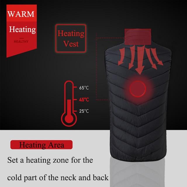 USB Heating Electric Jacket 2
