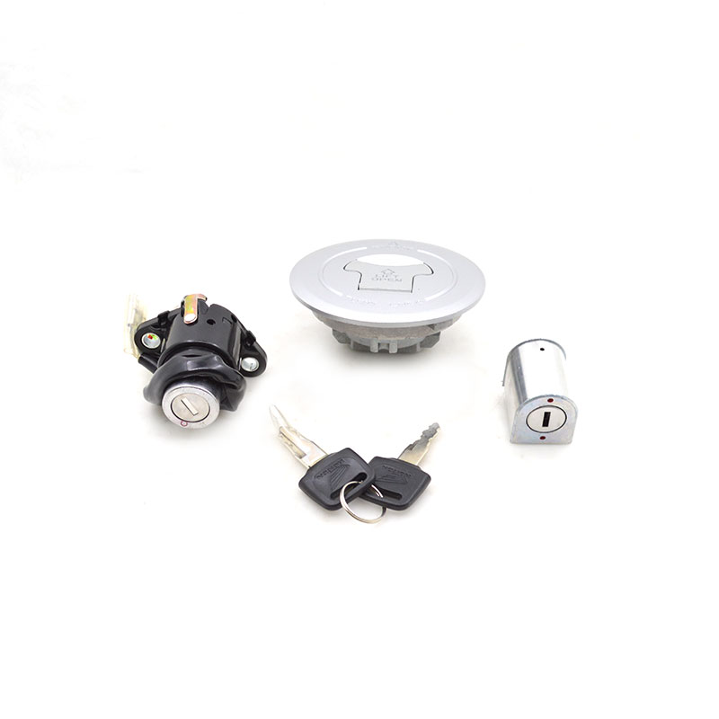 2088 Motorcycle Ignition Switch Lock+Fuel Gas Tank Cap Cover Set For Honda WY125-R CG125 WY CG 125 Spare Parts 35010-KSI-B00 стоимость