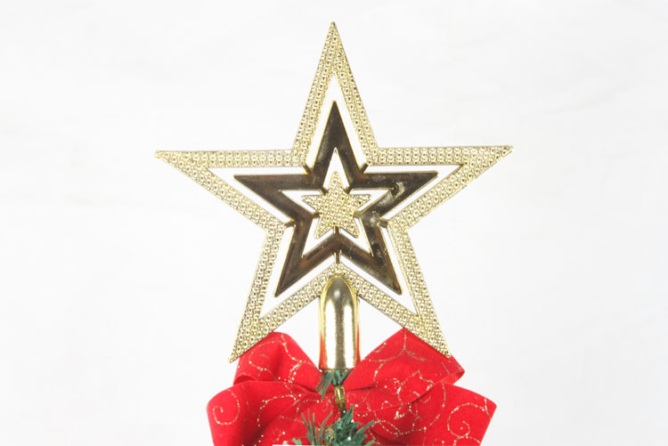 christmas five pointed star christmas tree top five pointed star decoration