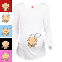 Baby Dreaming Peekaboo Series Of Standards For Pregnant Women Ouma Fashion Personality 100 Cotton Maternity