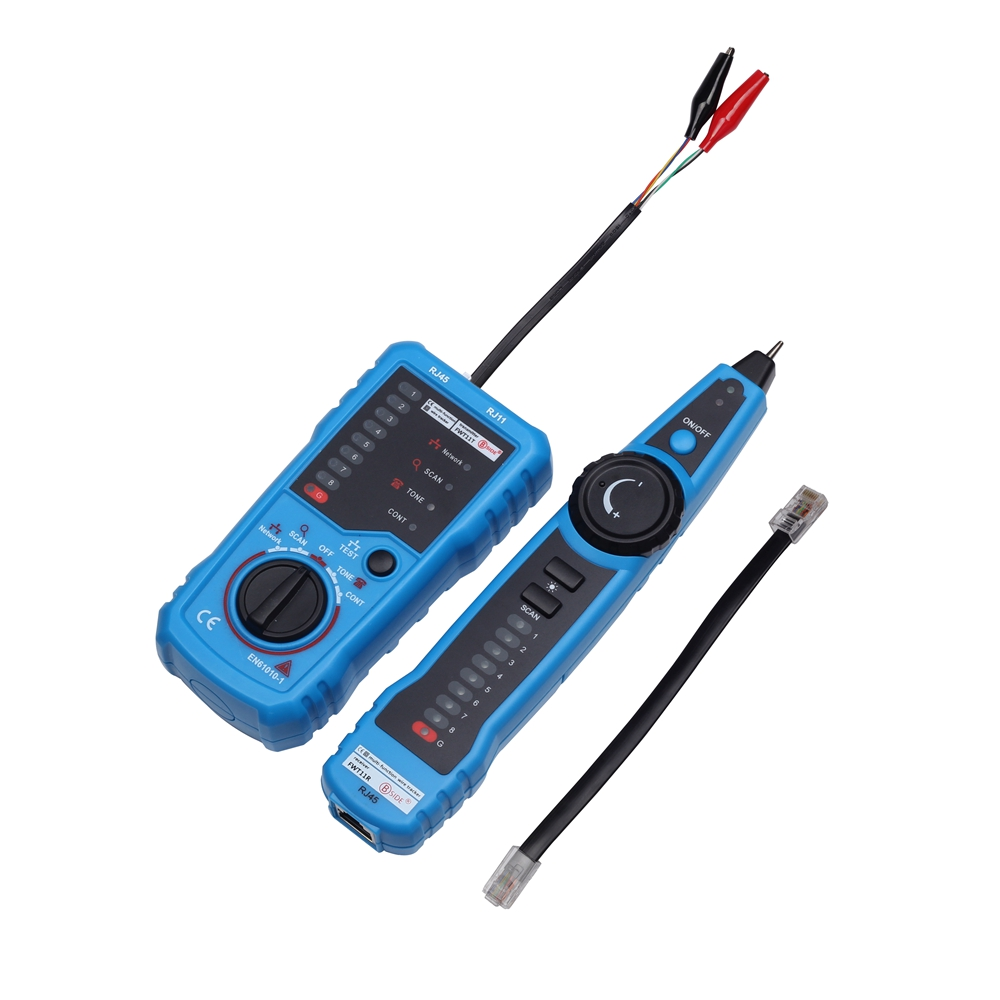 Bside Fwt11 Line Finder Tester Rj11 Rj45 Telephone Wire Tracker Rj 45 Wiring Tracer Lan Network Cable Detector On Alibaba Group