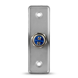 Image 3 - Stainless Steel Exit Button Push Switch Door Sensor Opener Release for Magnetic Lock Access Control