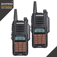 baofeng uv 2pcs Baofeng UV-9R Waterproof Talkie Walkie IP67 ניידת רדיו חובב דו כיוונית רדיו UHF VHF UV 9R Woki טוקי ציד CB (1)