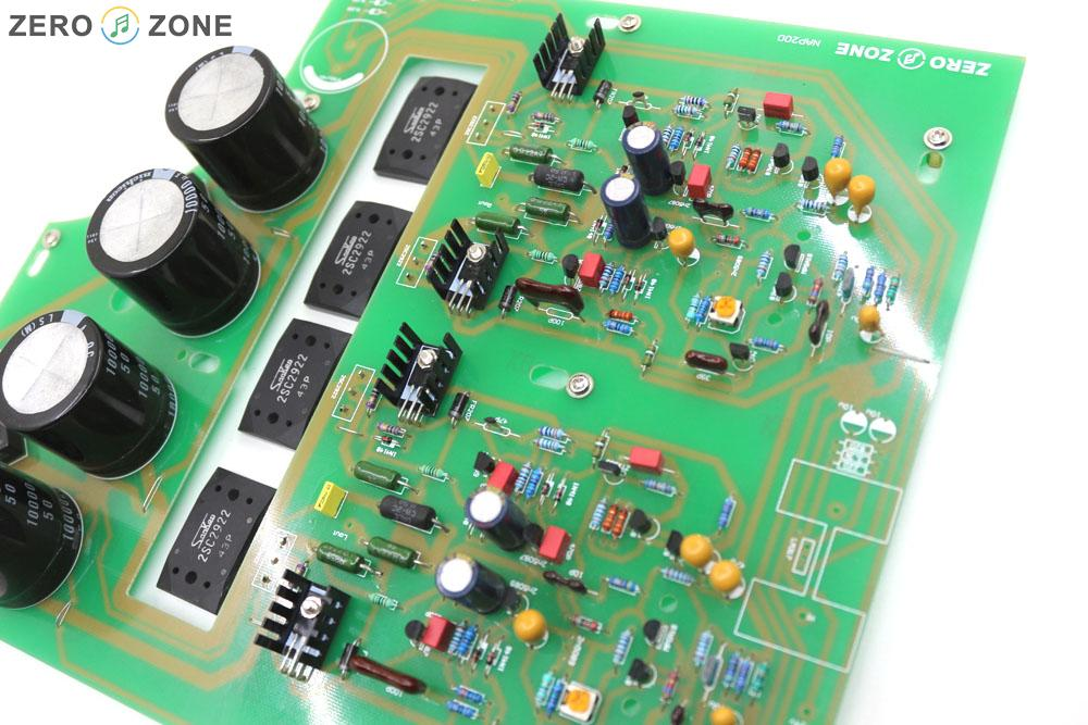 GZLOZONE assemblé boîte noire Clone Naim NAP200 amplificateur conseil bricolage amplificateur de puissance 75 W + 75 W - 3
