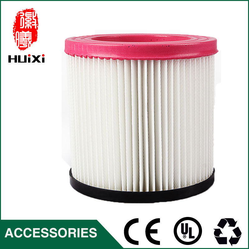 1 PCS plastic and steel wire frame pink hepa filter with high quality for vacuum cleaner parts replacement hepa filter JN-202 chrome oxide plated steel wire guide pulley for wire industry