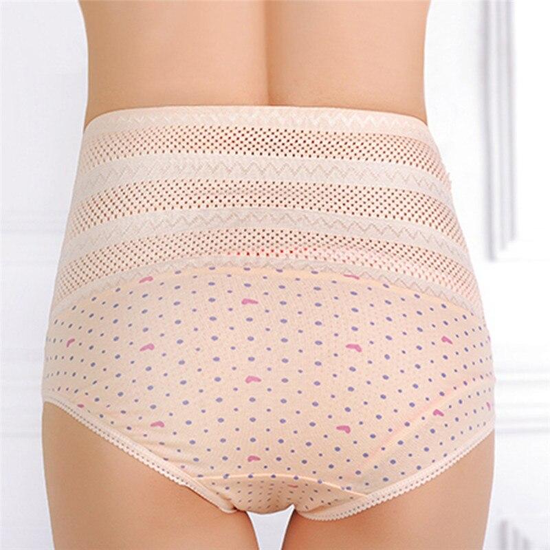 1pswomen's wysokiej talii majtki brzucha po porodzie matki bliscy underwear kontrola brzucha body shaper figi l-xxl nago/różowy 10