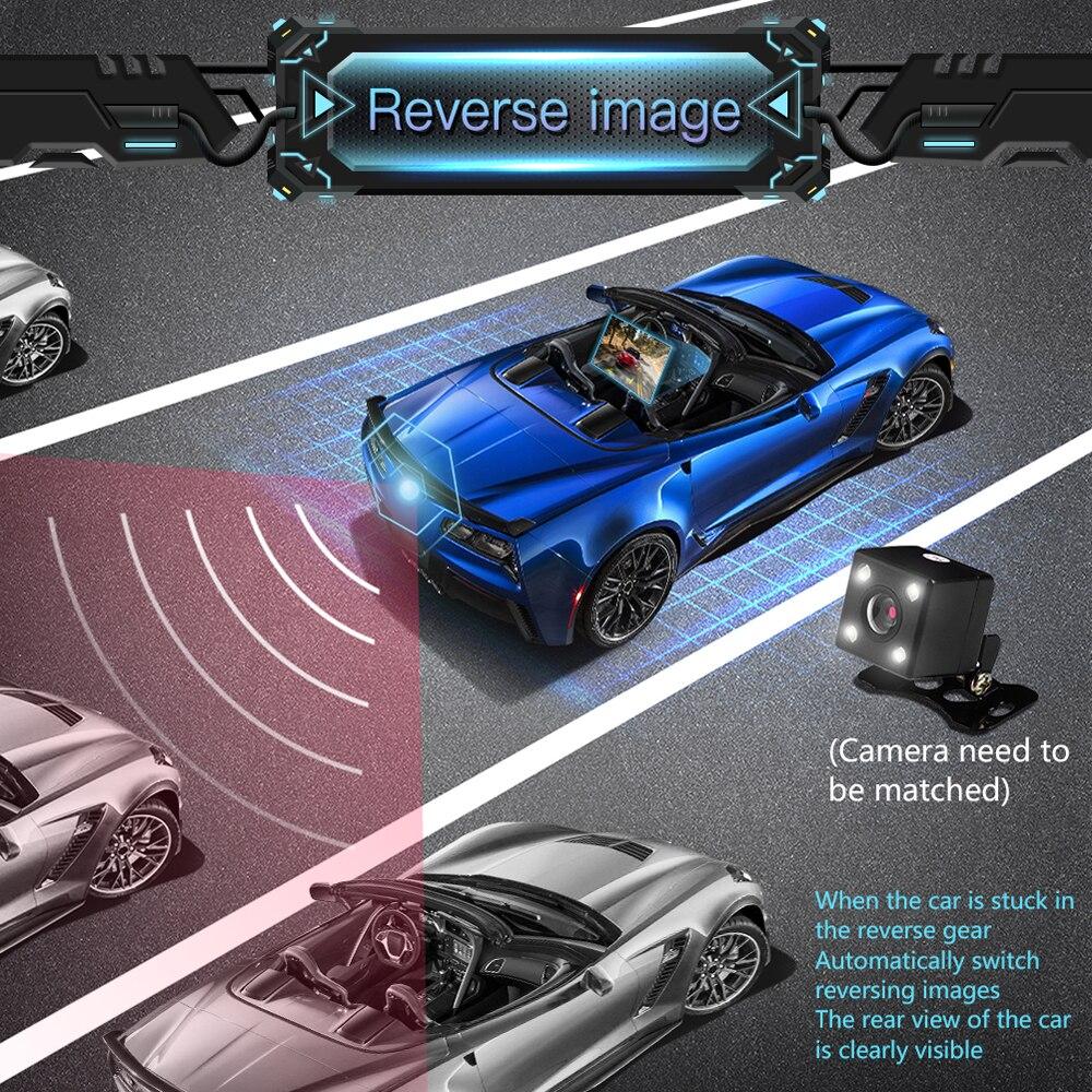 """Image 5 - 7 """"HD сенсорный экран Bluetooth автомобиля MP4 MP5 плеер Видео Аудио FM радио центральной консоли камера заднего вида телефон подключение автомобиля Displayer-in MP4 и MP5 плееры для авто from Автомобили и мотоциклы"""
