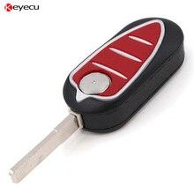 Keyecu BRAND NEW REPLACEMENT Case Folding Flip Remote Key Shell for Alfa Romeo Mito Giulietta 159 GTA