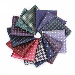 HUISHI Цветочный платок жаккард платок носовой платок костюмы мужские платок