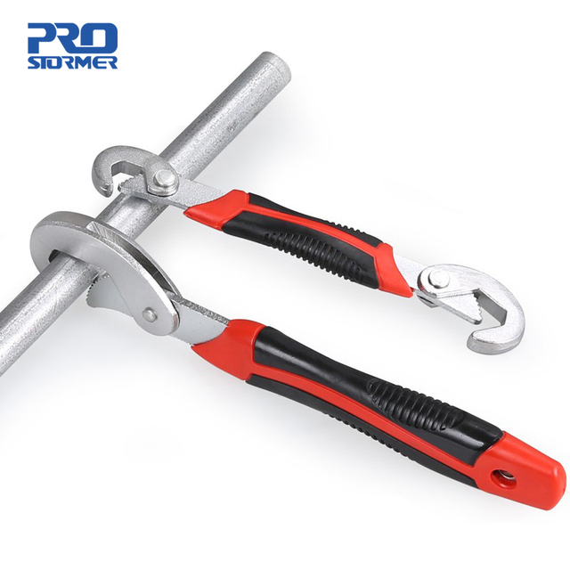 PROSTORMER Multifunction Universal Wrench Double End Wrench Set 2 Pcs Snap and Grip Adjustable Wrench High Torque 9-32mm Spaner 1