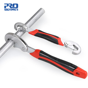 PROSTORMER Multifunction Universal Wrench Double End Wrench Set 2 Pcs Snap and Grip Adjustable Wrench High Torque 9-32mm Spaner