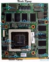 100% working GTX 280M 1GB P/N: X203R X648M VGA Video Card for Dell Alienware M15x M17x R1 clevo d900f W86cu W860cu W860tu
