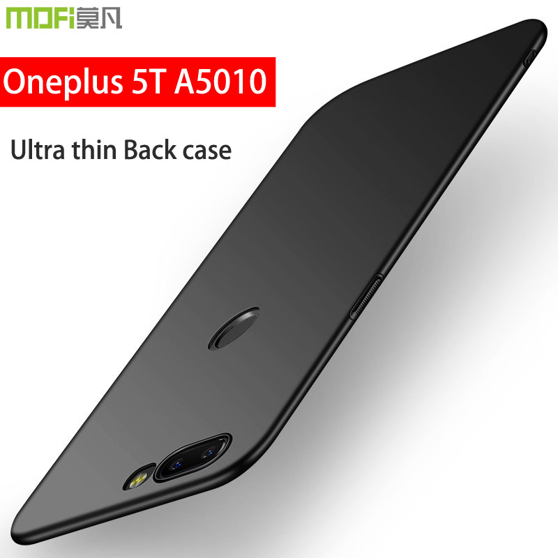 oneplus 5t case oneplus 5t a5010 case cover hard back luxury full cover mofi ultra thin coque one plus 5 t oneplus 5t a5010 case