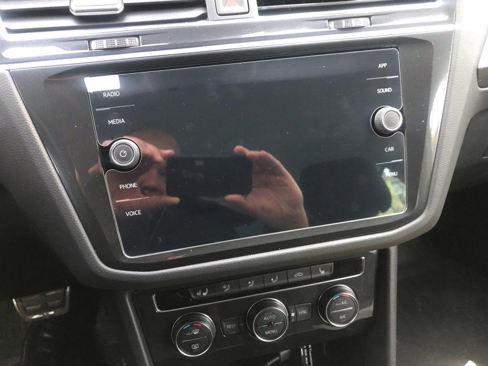 Myslc закаленное стекло для Volkswagen Tiguan протектор экрана автомобиля gps навигация lcd закаленная пленка для VW Tiguan Atlas