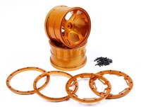 ЧПУ металлические колеса концентратор набор для 1/5 FG Rovan BM RC части автомобиля