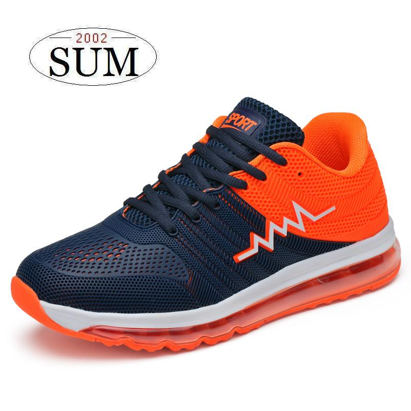 Spring summer 2017 Couples shoes lace up mesh breathable outdoor sport running shoes woman and men sneakers air sole athletic do dower men running shoes lace up sports shoes lovers yeezys air outdoor breathable 350 boost sport sneakers women hot sale