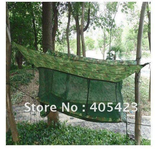 free shipping Outdoor hammock,Army Outdoor Camping Hammock Tent + Bed + Mosquito Nets,outdoor,Leisure,Siesta bed,1pc браслеты mr jones baass