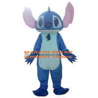 Export High Quality Big Ear Blue Monster Costumes Stitch Mascot Costumes