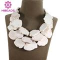 7 Colors Wholesale 3 Rows Natural Turquoise Slice Necklace Fashion Cream Ladies Turquoise Jewelry Free Shipping TN102