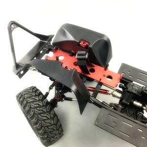 Image 4 - Garde boue/garde boue en Nylon de course KYX pour voiture sur chenilles RC Axial SCX10 II Wrangler corps dur 313mm