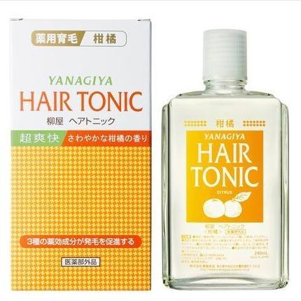 Yanagiya Hair Tonic Cooling Reduce Hair Loss Promote Hair Growth
