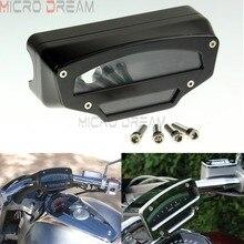 цена на Black Motorcycle Meter Housing Tachometer Gauge Instrument Cover For Suzuki VZR1800  M109N  M109R  M109LE  2006-2016