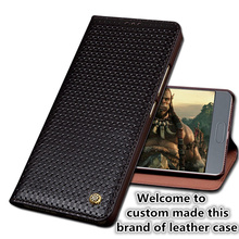 QX05 Genuine real leather flip case with kickstand for Motorola Moto Z Play XT1635 phone case for Motorola Moto Z Play cover
