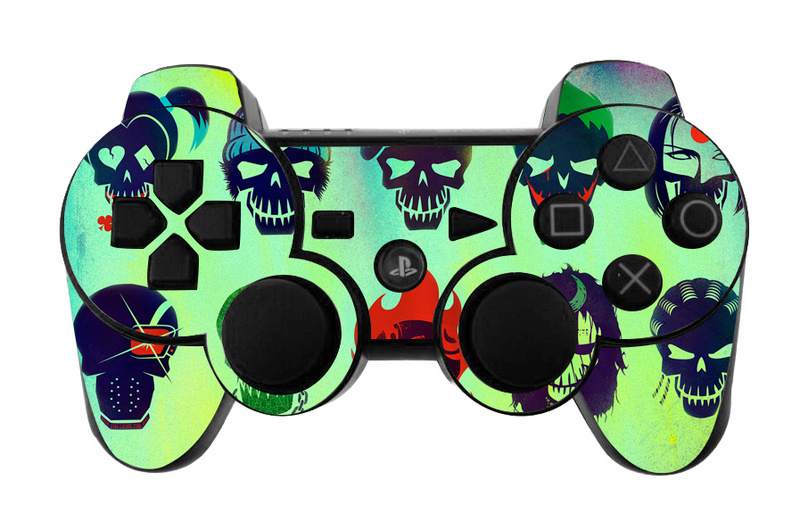 Cartoon Design Vinyl Protective Decal Cover For Sony Playstation 3 Gamepad Controller for PS3 Joystick Skin Sticker