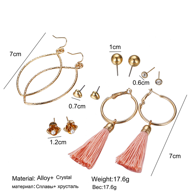 Earrings Sets 4