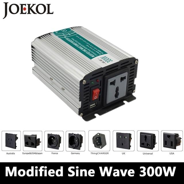 300W Modified Sine Wave Inverter DC 12V/24V/48V To AC 110V/220V,off Grid Inversor,car Inverter,Solar Power Inverter For Home Use