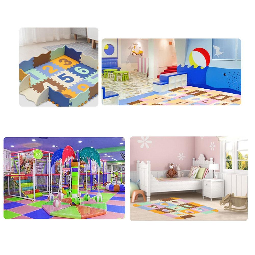 Tapis de motif Animal de bande dessinée tapis de Puzzle en mousse EVA tapis de jeu pour enfants tapis de jeu pour enfants - 6