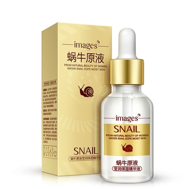 Hot Snail Serum Facial Moisturizer Liquid Essence Collagen Face Care Whitening Lifting Skin Ageless Anti Aging Anti Wrinkles