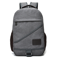 DIDA BEAR New Women Men Canvas Backpacks Large School Bags For Teenagers Boys Girls Travel Laptop