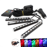 180 Adjustable LED Chips Vehicle Neon Lamp For Volkswagen VW Polo Passat B5 B6 CC Golf