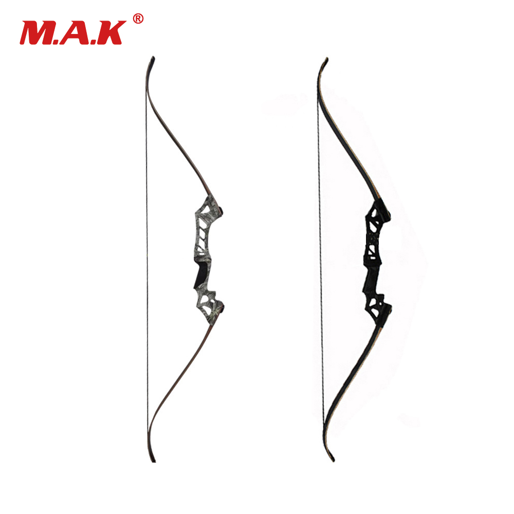 60 Inches Hybrid Bow 30-70 Lbs Recurve Bow for Right Hand User Archery Bow Shooting Hunting 3 color 30 50lbs recurve bow 56 american hunting bow archery with 17 inches metal riser tranditional long bow hunting