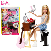 Original Brand All Joints Move Musician Doll & Playset Of Dolls The Girl A Birthday Present Girl Toys Gift Boneca FCP73