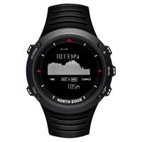 NORTH EDGE цифровые часы для мужчин Спорт водосветодио дный стойкий светодиодный бег часы для плавания relogio masculino esportivo цифровые умные