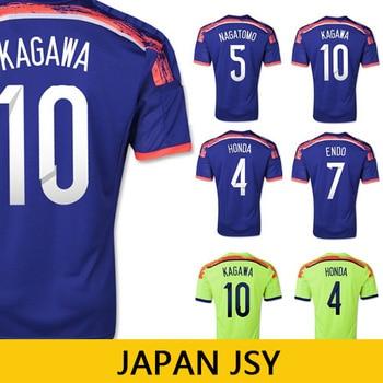 558cd440c ... 2014 World Cup Best Thai Quality Japan Home Print Pikachu Man Soccer  Football Jerseys Player Or ...