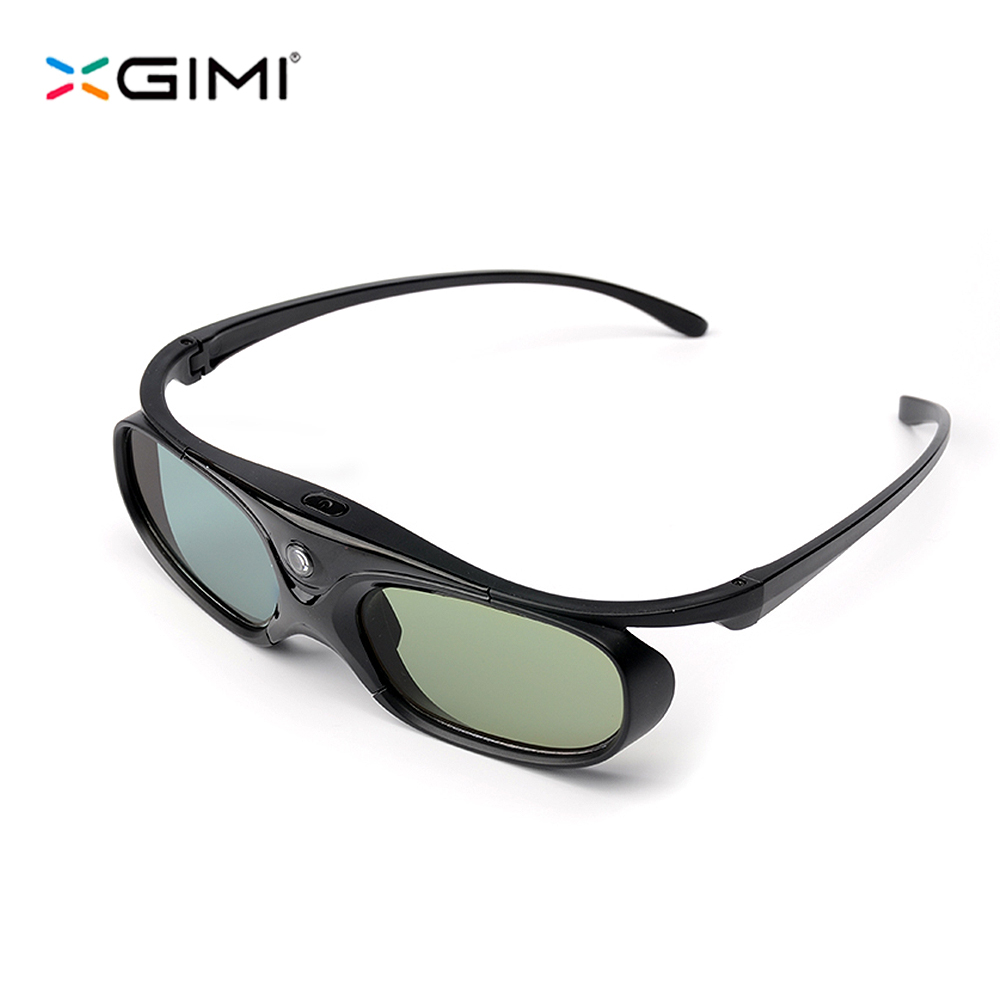 XGIMI Shutter 3D Glasses Virtual Reality LCD Glass for XGIMI H1/ Z4 Aurora/XGIMI H2/ Z6/ H1S Built-in Battery original xgimi 3d glasses dlp link active shutter 3d glasses g102l for xgimi h1 z4 aurora z4 air projectors