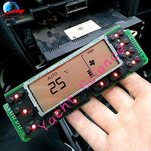Image 5 - Car ACC Unit LCD Display Climate Control Monitor Pixel Repair Air Conditioning Information Screen For Seat Leon/Toledo/Cordoba